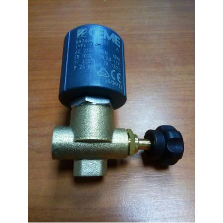 Паровой клапан с катушкой, артикул - A0229 (N0200)