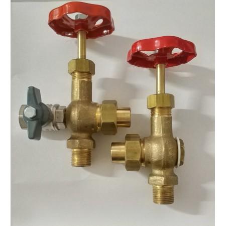 Комплект кранов индикатора уровня воды Comel А0198
