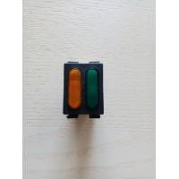 Лампа индикатор двойная на мини 5