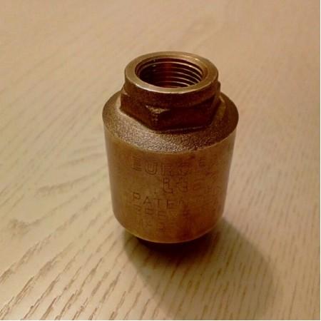 """Обратный клапан 3/8"""" для парогенераторов R0133"""